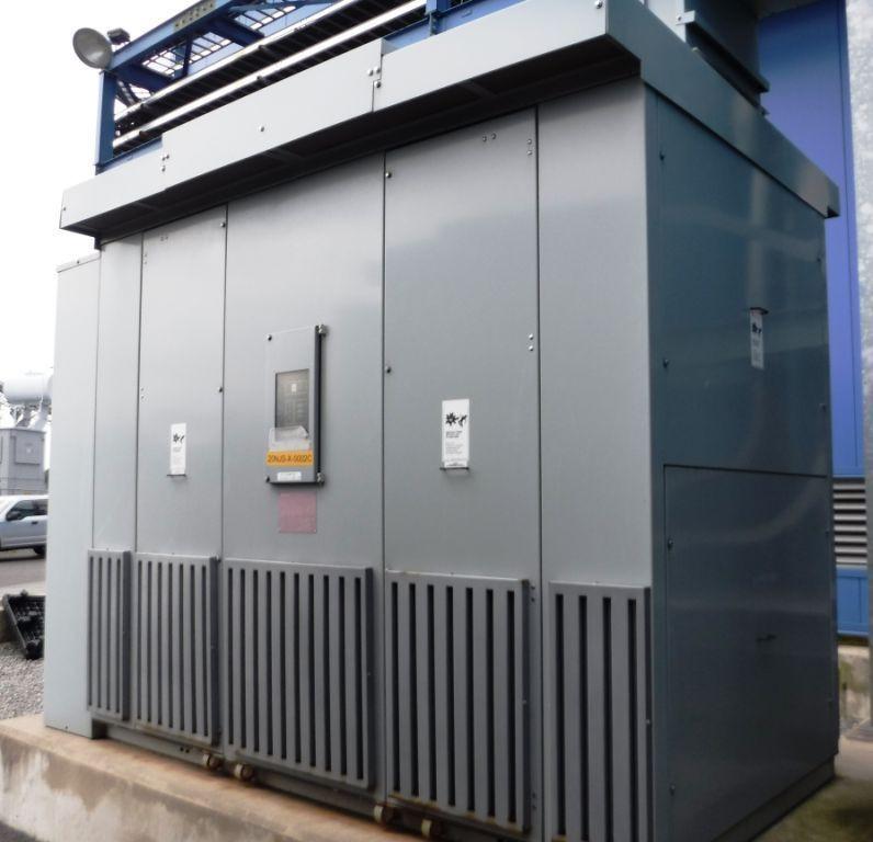 Siemens Dry Type Cast-Coil Transformers 2000/2667 KVA