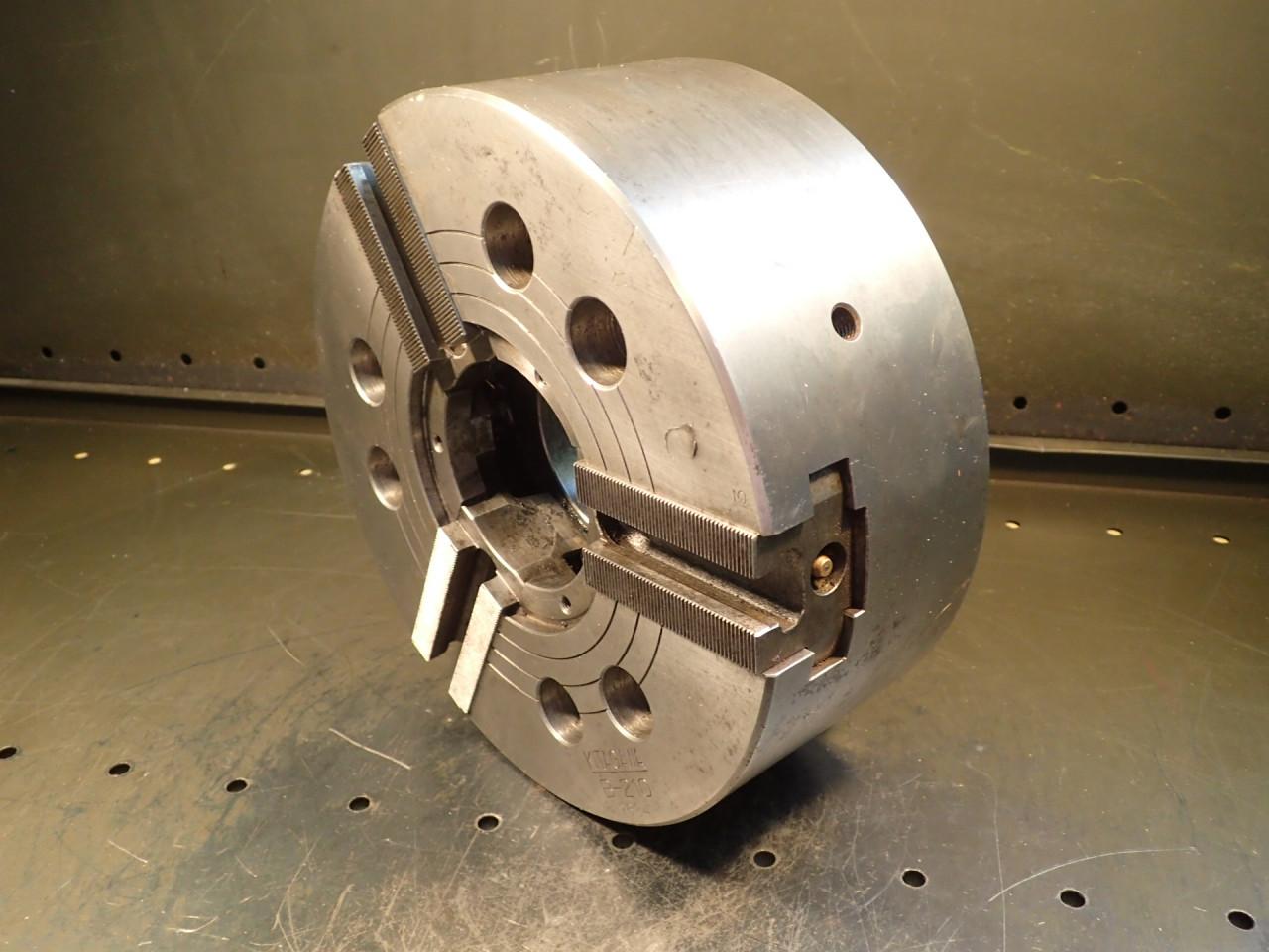 "Kitagawa B-210 10"" 3-Jaw CNC Power Lathe Chuck: 3"" Thru Hole Used Good Condition"