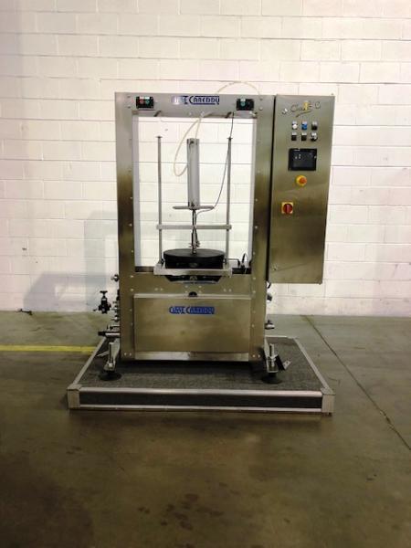 Cime-Carredu Keg Rinser/Filler Machine