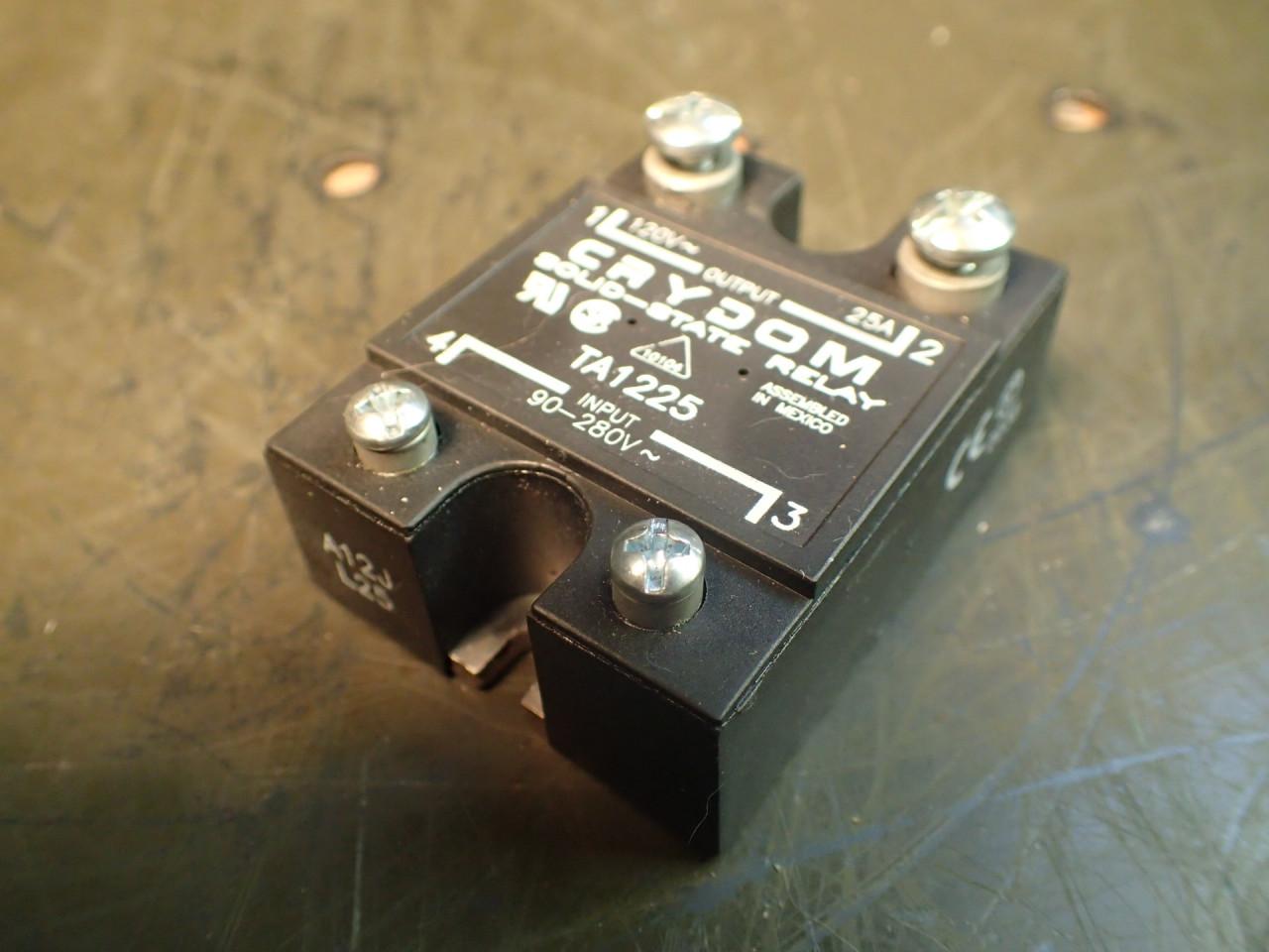 Watlow Kona 81 20 116 Band Heater 240v 750w 2 Id X Long Solid State Relay Crydom Ta1225 Ssr Input 90 280v Output 120v
