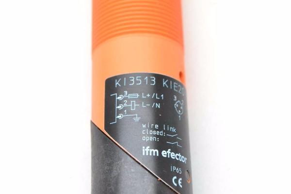 IFM EFECTOR KI3513 | KIE2015-FBOA/NI/LS100AK RT CAPACITIVE 20-250V-AC SENSOR