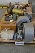 2 PALLETS OF ASSORTED ELECTRIC AC MOTORS, BALDOR, RELIANCE, FASCO, SEW EURODRIVE (OHIO)