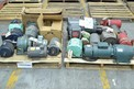 2 PALLETS OF ASSORTED ELECTRIC MOTORS, BALDOR, GENERAL ELECTRIC, RELIANCE, US MOTORS (OHIO)