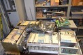 ASSORTED STROMBERG AND ALLEN BRADLEY CONTROLS WITH DESK (NOVA SCOTIA)