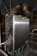 VOITH STAINLESS ENCLOSURE WITH FOXBORO INT25 AND INT20 FLOW TRANSMITTERS (NOVA SCOTIA)