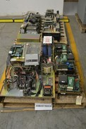 2 PALLETS OF ASSORTED AC MOTOR DRIVES, ALLEN BRADLEY, ABB (OHIO)