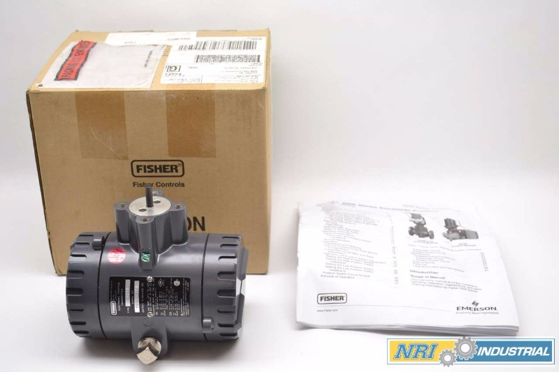 FISHER 4211 ELECTRONIC POSITION CONTROL 4-20MA 30V-DC TRANSMITTER (OHIO)