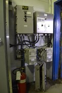 3x ASSORTED ELECTRUCAL CABINETS AND 2x CONTROLLED POWER 5DZZX-1K-8-PI POWER REGULATORS (NOVA SCOTIA)