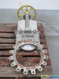 FC FLOW CONTROL 80B 16 IN 150 STAINLESS FLANGED KNIFE GATE VALVE (OHIO)