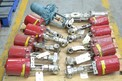 1 PALLET OF ASSORTED STAINLESS CONTROL VALVES, FOXBORO, BADGER METER, VORTEX (OHIO)