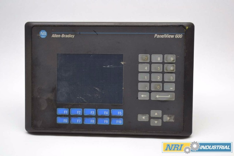 ALLEN BRADLEY 2711-B6C8 PANELVIEW 600 OPERATOR INTERFACE PANEL (OHIO)
