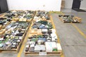 4 PALLETS OF ASSORTED ELECTRICAL CONTROLS INPUT MODULES, OUTPUT MODULES, I/O PROCESSORS (OHIO)