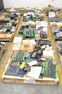 4 PALLETS OF ELECTRICAL CONTROLS INPUT MODULES, OUTPUT MODULES, I/O PROCESSORS, METERS (OHIO)