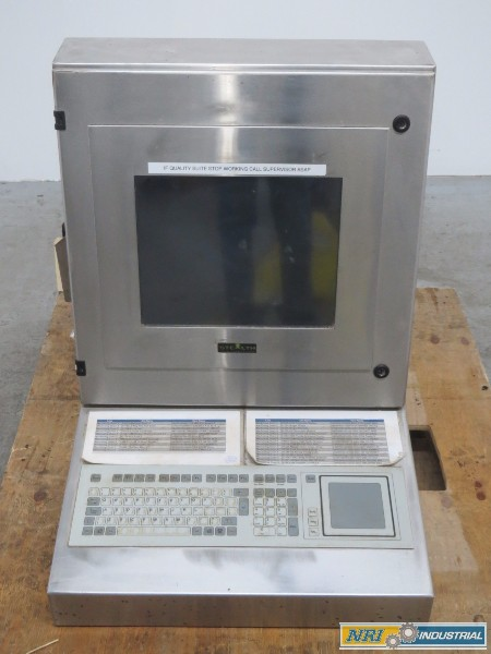 STEALTH COMPUTER SV-1700P-PM-RT-SS LCD MONITOR QUALITY CONTROLLER OPERATOR INTERFACE PANEL (OHIO)