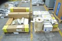 2 PALLETS OF ASSORTED CONVEYOR BELTS, TABLETOP BELTS, INTRALOX, HABASIT, MCC, FORBO (OHIO)