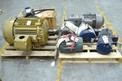 2 PALLETS OF ASSORTED ELECTRICAL AC MOTORS, BALDOR, SEW EURODRIVE, MARATHON (OHIO)