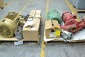 2 PALLETS OF ASSORTED ELECTRIC MOTORS, BALDOR, GENERAL ELECTRIC, MARATHON, SEW EURODRIVE (OHIO)