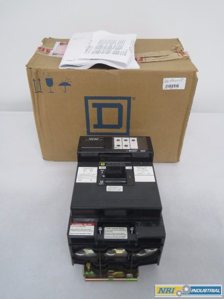 SQUARE D LX36100 I-LINE MOLDED CASE 3P 100A AMP 600V-AC CIRCUIT BREAKER (OHIO)