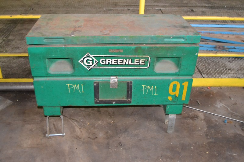 GREENLEE STORAGE BOX 2142/31651