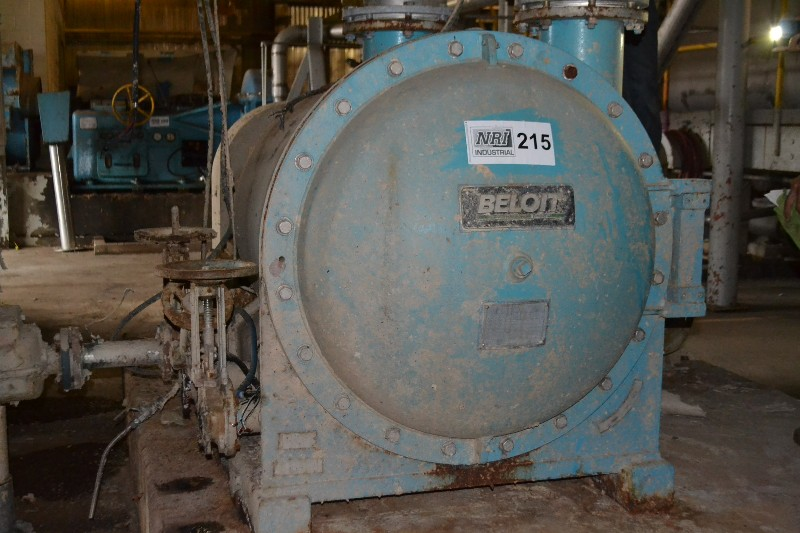 BELOIT M-R 24 HORIZONTAL PRESSURE SCREEN