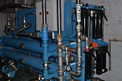 HYDRAULIC SYSTEM WITH DENISON PUMPS, VALVES, TOSHIBA 25HP MOTORS, AMERICAN INDUSTRIAL HEAT EXCHANGERS, RESERVOIR, FILTERS