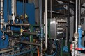 HYDRAULIC SYSTEM WITH PUMPS, HYDRAULIC VALVES, FISHER CONTROL VALVES, INSTRUMENTATION, HEAT EXCHANGERS