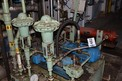 HYDRAULIC POWER UNIT WITH VICKERS 35V30A PUMPS, VICKERS VALVES, GE 5HP MOTORS, HEAT EXCHANGER, FOXBORO CONTROL VALVES