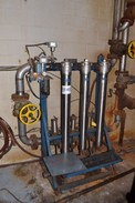 ALBANY ENGINEERED SYSTEMS STAINLESS WATER FILTRATION ASSEMBLY