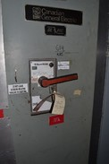 GE SIL-PAC DC DRIVE WITH GE POWERBREAK TPMMF76 2500A BREAKER W/ 1600A TRIP