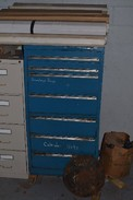 TOOL CABINET 7 SHELF WITH CONTENTS