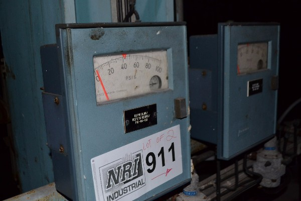 2X FOXBORO 43AP-FA42C PNEUMATIC CONTROLLER
