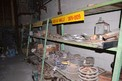 CONTENTS OF RACKING - SPROCKETS, ROLLER CHAINS, SHEEVES, COUPLINGS, TB WOODS 5V-21-2 3-E PULLEY