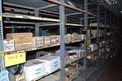 CONTENTS OF SHELVING - CONDUITS, COILS, TRANSFORMERS, PCB CIRCUIT BORADS, ALLEN BRADLEY PHOTOSWITCH 42RLU-4000B,