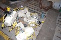 SKID OF EL-O-MATIC TYPE ESA 959-4/A ACTUATORS LOT OF 4