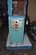 MILLER 330A/BP GAS WELDER W/ SHELVE