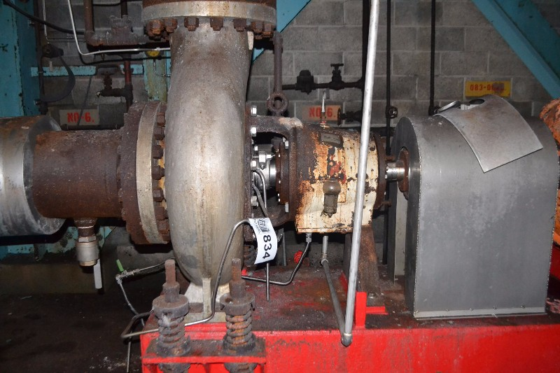 GOULDS 3175L 14X14-18 STAINLESS CENTRIFUGAL PUMP 5600GPM 82FT HEAD