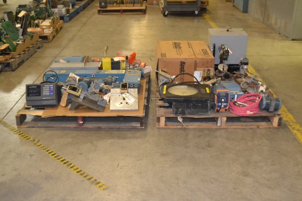 2 PALLETS OF ASSORTED INSTRUMENTATION,