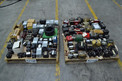 2 PALLETS OF ASSORTED TRANSFORMERS, ALLEN BRADLEY, ACME, HAMMOND, SIEMENS, SQUARE D