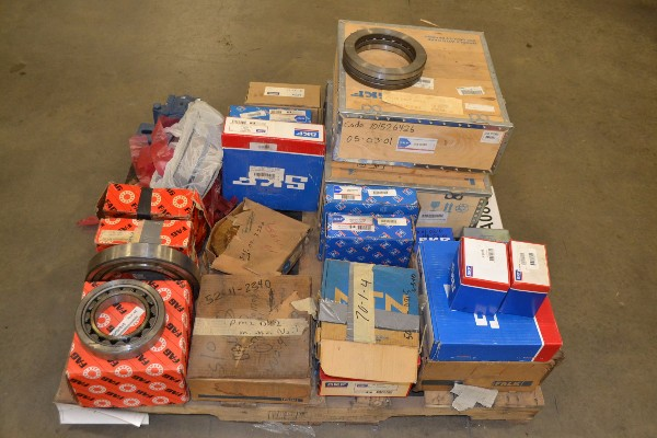 ASSORTED BEARINGS SKF FAG FALK MARTIN ETC