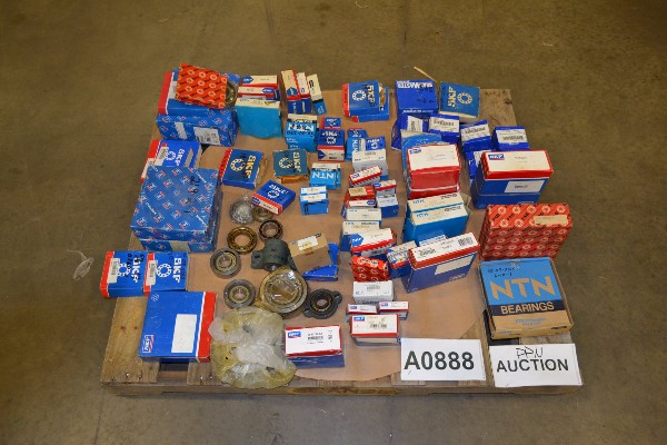 ASSORTED BEARINGS SKF NTN FAG SEALMASTER ETC