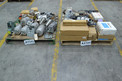 2 PALLETS OF ASSORTED VALVE PARTS, ACTUATORS, POSTIONERS, KITS, HONEYWELL, SIEMENS, TRI-CLOVER