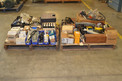 2 PALLETS OF ASSORTED MRO, ALOMA, ROPER, MARTIN