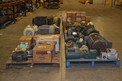 6 PALLETS OF ASSORTED MOTORS, BALDOR, RELIANCE, GE