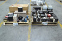 2 PALLETS OF ASSORTED TRANSFORMERS, ALLEN BRADLEY, ABB, GENERAL ELECTRIC, HAMMOND, ACME