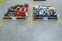 2 PALLETS OF ASSORTED TRANSFORMERS, ALLEN BRADLEY, SQUARE D, HAMMOND, ACME