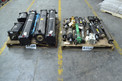 2 PALLETS OF ASSORTED HYDRAULIC CYLINDERS, PARKER, TRC, LAMBS-GRAY