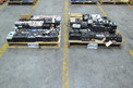 2 PALLETS OF ASSORTED CIRCUIT BREAKERS, SQUARE D, GENERAL ELECTRIC, CUTLER HAMMER, FUJI
