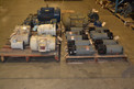 4 PALLETS OF ASSORTED MOTORS, GENERAL ELECTRIC, RELIANCE,