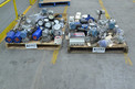 2 PALLETS OF ASSORTED INSTRUMENTATION UNITS, TRANSMITTERS, FLOWMETERS, ROSEMOUNT, BAILEY, FOXBORO
