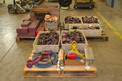 3 PALLETS OF ASSORTED TOOLS, SOCKETS, CLEVIS,